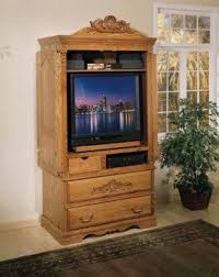 Entertainment Armoire With Pocket Doors Tv Armoire With Doors And Drawers Foter