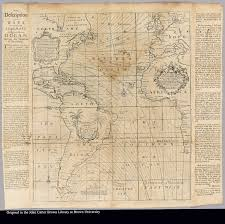 Southern Ocean Map A New And Correct Chart Shewing The Variations Of The Compass In