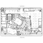 disney concert hall floor plan architectureweek design gehry s disney concert hall 2003 1217