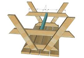 Picnic Table Plans Free Separate Benches by Ana White Build A Bigger Kid U0027s Picnic Table Diy Projects