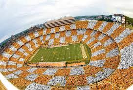 ut fans to turn stadium into orange and white checkerboard