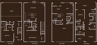 Garage Floor Plan Designer Floor Plans For Hacienda Hills Luxury Apartments