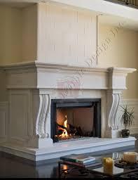 bexdale limestone fireplace mantel surround