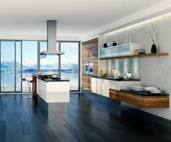 kitchen modern kitchen design with open layout and floating