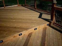 interior step riser lighting for deck in st louis mo stairway