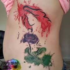 the little mermaid tattoo watercolor tattoos pinterest