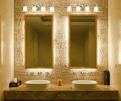 Bathroom With Mirror Bathroom Mirror Lighting The Need For Practical And Meaningful