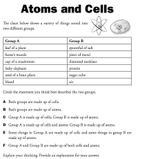 matter atoms elements lincoln 8th grade science