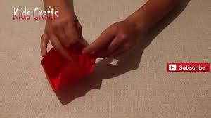 easy origami box instructions kids crafts children u0027s crafts