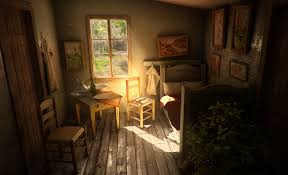 vincent van gogh bedroom cgarchitect professional 3d architectural visualization user