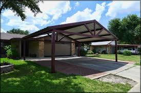 Car Port Roof Free Standing Steel Carport Pictures Kirby Job San Antonio Texas