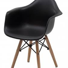 kids black armchair living room comfy eames chair replica for your interior design