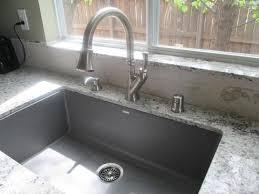 Granite Single Bowl Kitchen Sink Blanco Precis Undermount Granite Composite 32 In Single