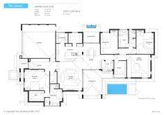 house plans with swimming pools the chelsea single storey with a bar swimming pool area house