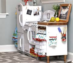 play kitchen kids kitchen kidkraft retro kitchen madeover