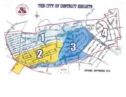 Md Map Boundaries Map City Of District Heights