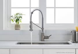 kraus bolden series single handle pull out kitchen faucet wayfair