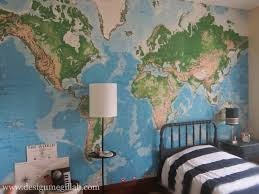 Giant Map Design Megillah The New Old House A Giant Map Wall