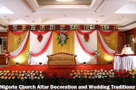 altar decorations nigeria church altar decoration and wedding traditions formation