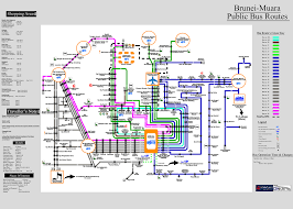 Dc Metro Bus Map by Brunei Muara Public Bus Routes Dated April 2013 H As Of Nov