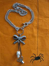 how to make halloween jewelry craftside how to put crystals on your fingernails and make a
