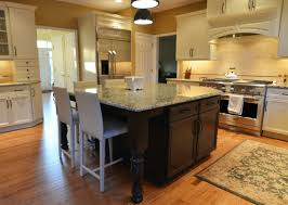 stained kitchen cabinets with hardwood floors 2 a island and medium stained hardwood floors balance