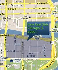 chicago map side new east side chicago real estate