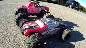 traxxas nitro monster truck radios losi night hobbyking basher circus scale wd extreme