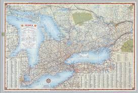 Ontario Canada Map Shell Ontario Canada David Rumsey Historical Map Collection