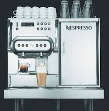 nespresso siege nespresso launches professional barista machine