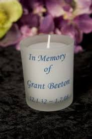 In Memory Of Gifts Personalised Classy Candles Funeral Personalised Gifts Online Memorial