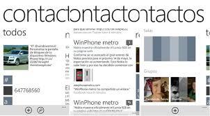hotmail y los mensajes en el movil cómo gestionar tus contactos en windows phone