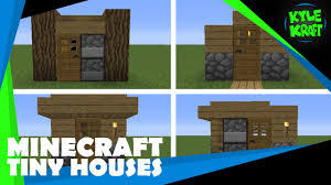 minecraft tiny houses designs youtube