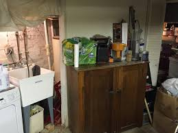 first steps for a tankless water heater and an open basement old