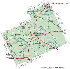 Austin Google Fiber Map by Hamilton County The Handbook Of Texas Online Texas State