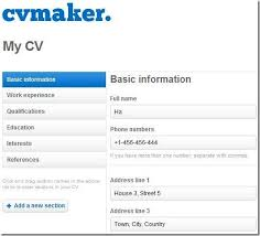 Free Resume Creator Download Make My Resume Free 25 Best Ideas About Free Resume Builder On