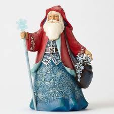 jim shore halloween figurines amazon com enesco jim shore heartwood creek wonderland santa w