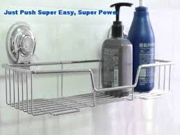 Bathroom Suction Shelves Wholesale Push Lock Suction Kitchen Storage Bathroom Shelf