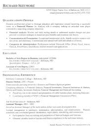 skill resume best financial analyst templates samples on with