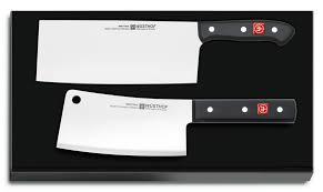 german kitchen knives wusthof chinese chef s knife u0026 cleaver set 9284 wüsthof