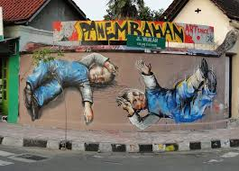 Mural Artist by Fintan Magee New Murals In Indonesia Streetartnews Streetartnews