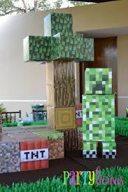 Minecraft Party Centerpieces by 30 Best Minecraft Birthday Party Images On Pinterest Minecraft