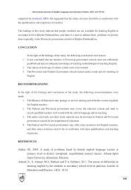 thesis about education in english factors affecting the learning of english at secondary 2 2