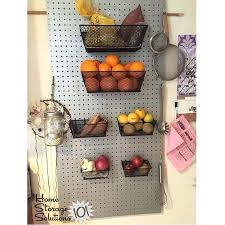 pegboard ideas kitchen pegboard kitchen storage easy ways to get organized use of