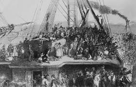 bbc primary history victorian britain famine and emigration