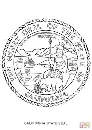 california state seal coloring page free printable coloring pages