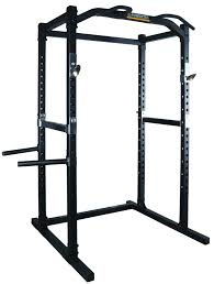 powertec power rack system with lat pulldown squat rack cage home