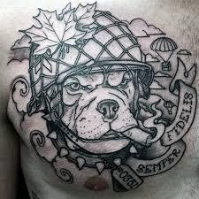 60 bulldog tattoos for men masculine design ideas