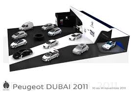 Stand Peugeot Salon De L U0027auto à Dubai 2011 On Behance