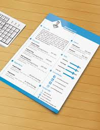 free resume templates download psd templates resume template with ms word file free download by